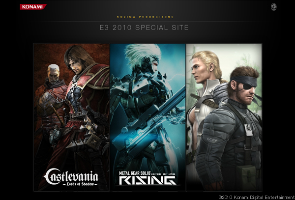 Castlevania -Lords of Shadow-/METAL GEAR SOLID RISING OFFICIAL WEBSITE